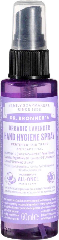 Biologische Dr. Bronner's Hand hygiene spray 60 ml
