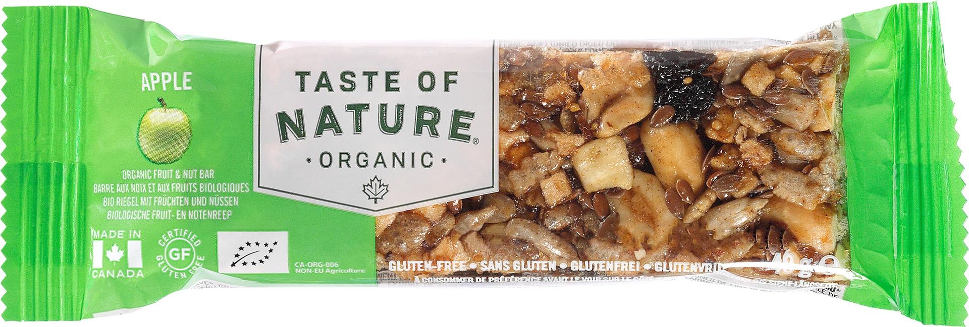 Biologische Taste of Nature Appel reep 40 gr
