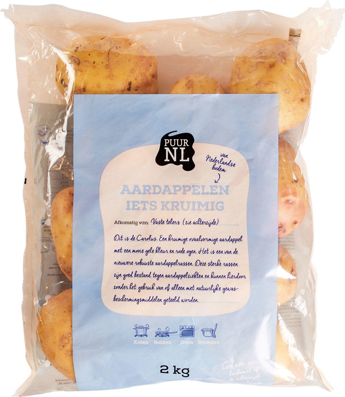 Biologische Puur NL Aardappel (kruimig) 2 kg