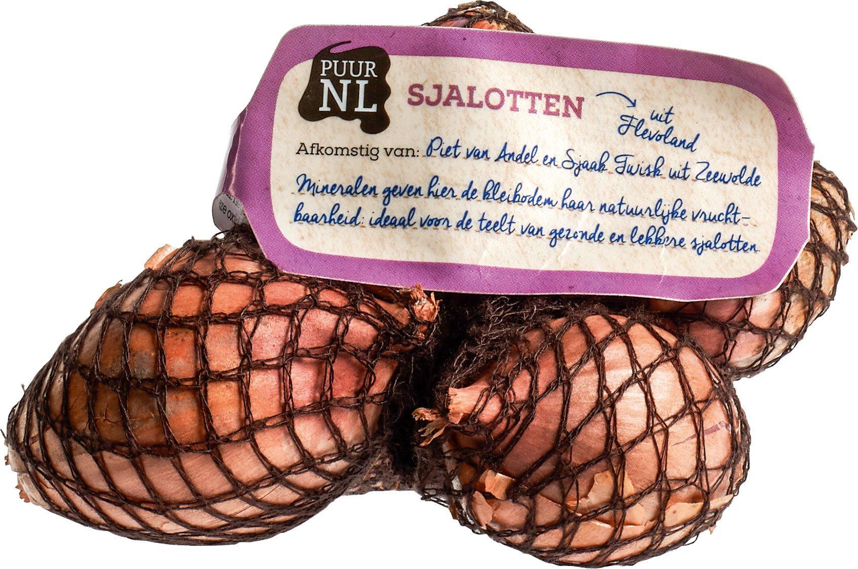Biologische Puur NL Sjalotten 200 gr