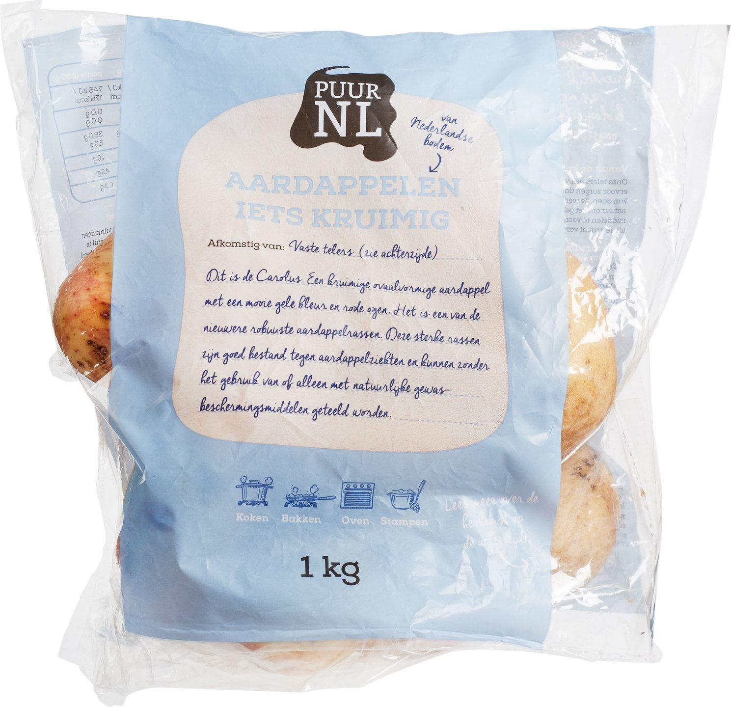 Biologische Puur NL Aardappel (kruimig) 1 kg