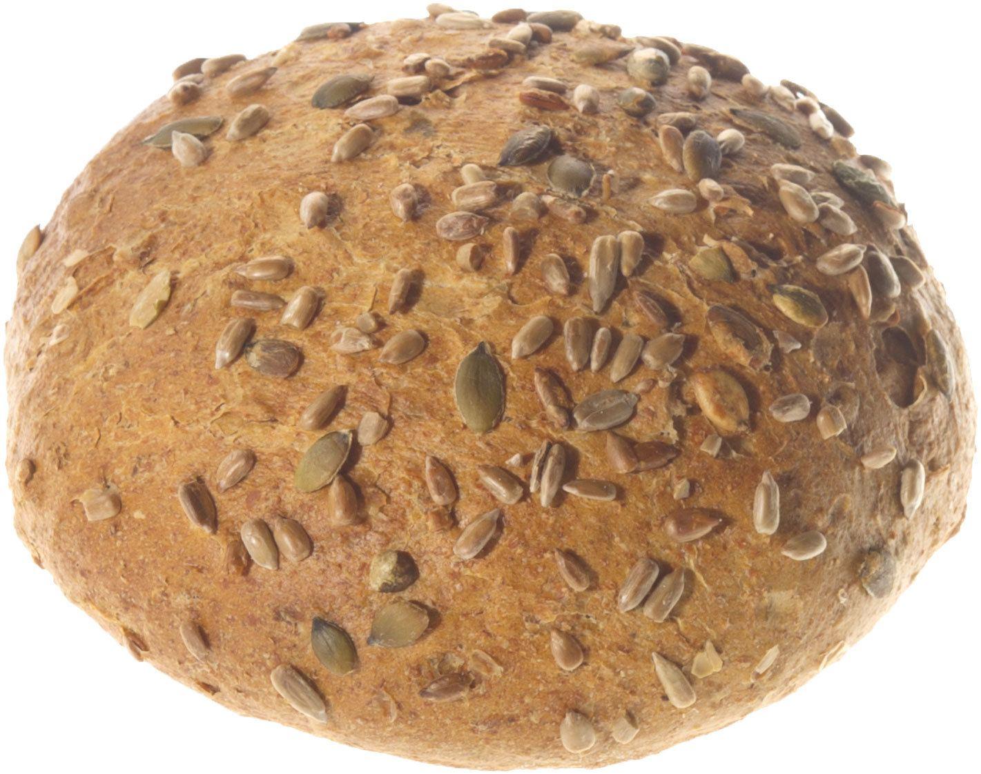 Biologische Dag en Dauw Spelt bol bruin met pitten desem 400 gr