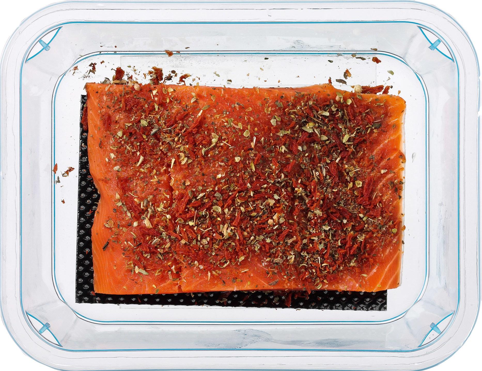 Biologische Fish and More Wilde Sockeye zalm kruiden 130 gr