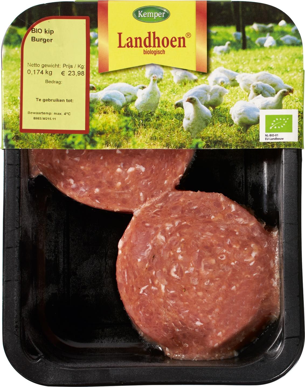 Biologische Kemper Verse Kipburger 180 gr