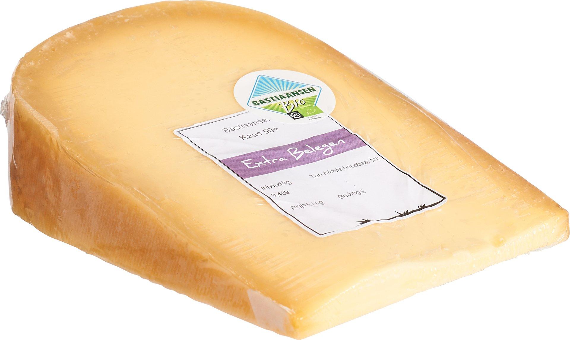 Biologische Bastiaansen Kaas extra belegen 50+ 400 gr