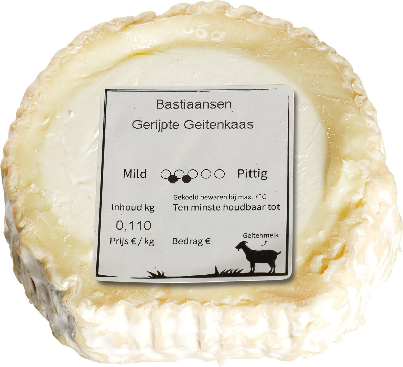 Biologische Bastiaansen Verse geitenkaas 50+ 165 gr