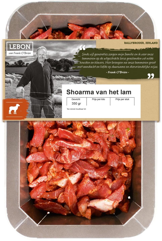 Biologische Lebon Lamsshoarma 350 gr