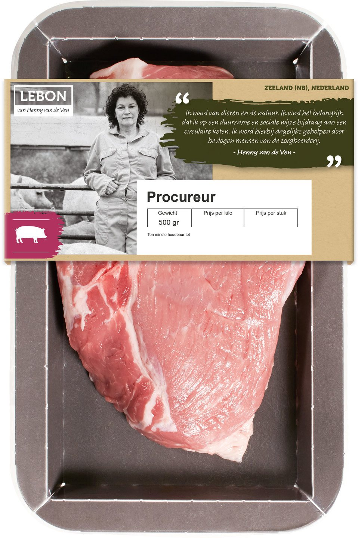 Biologische Lebon Varkens procureur 500 gr