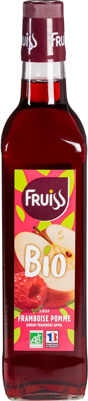 Biologische Fruiss Siroop framboos appel 700 ml