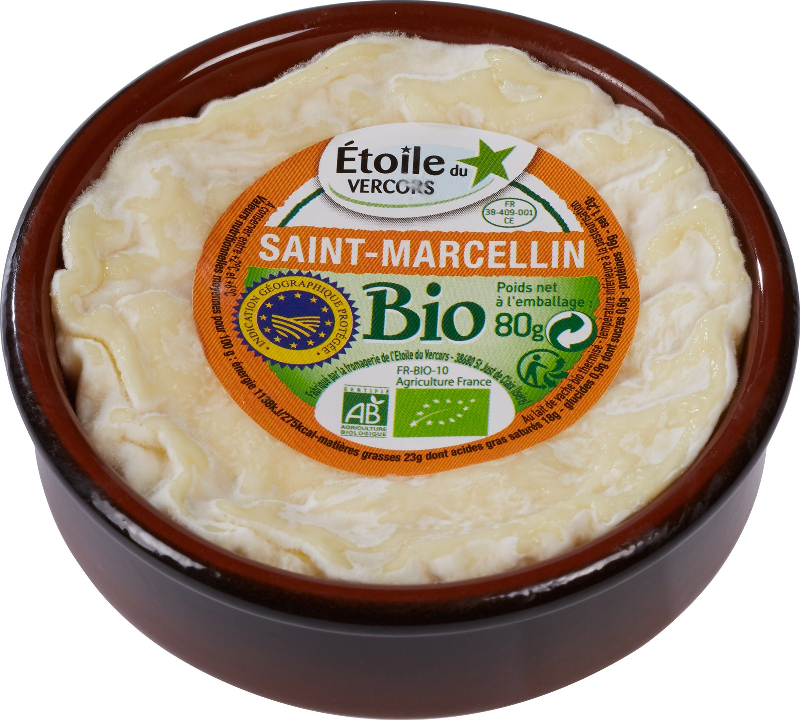 Biologische l'Étoile du Vercors St. Marcellin 80 gr