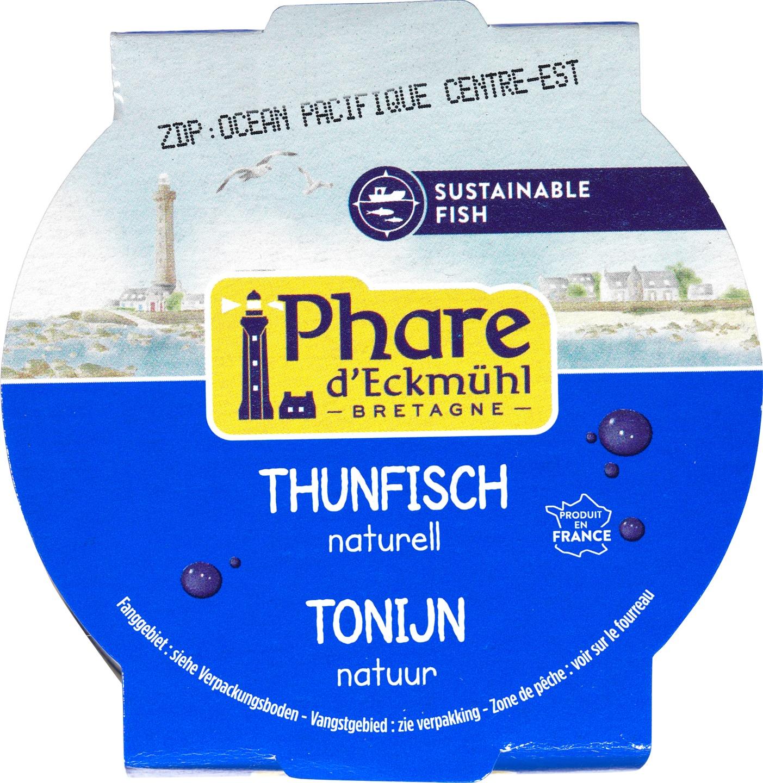 Biologische Phare d'Eckmühl Tonijn naturel 160 gr