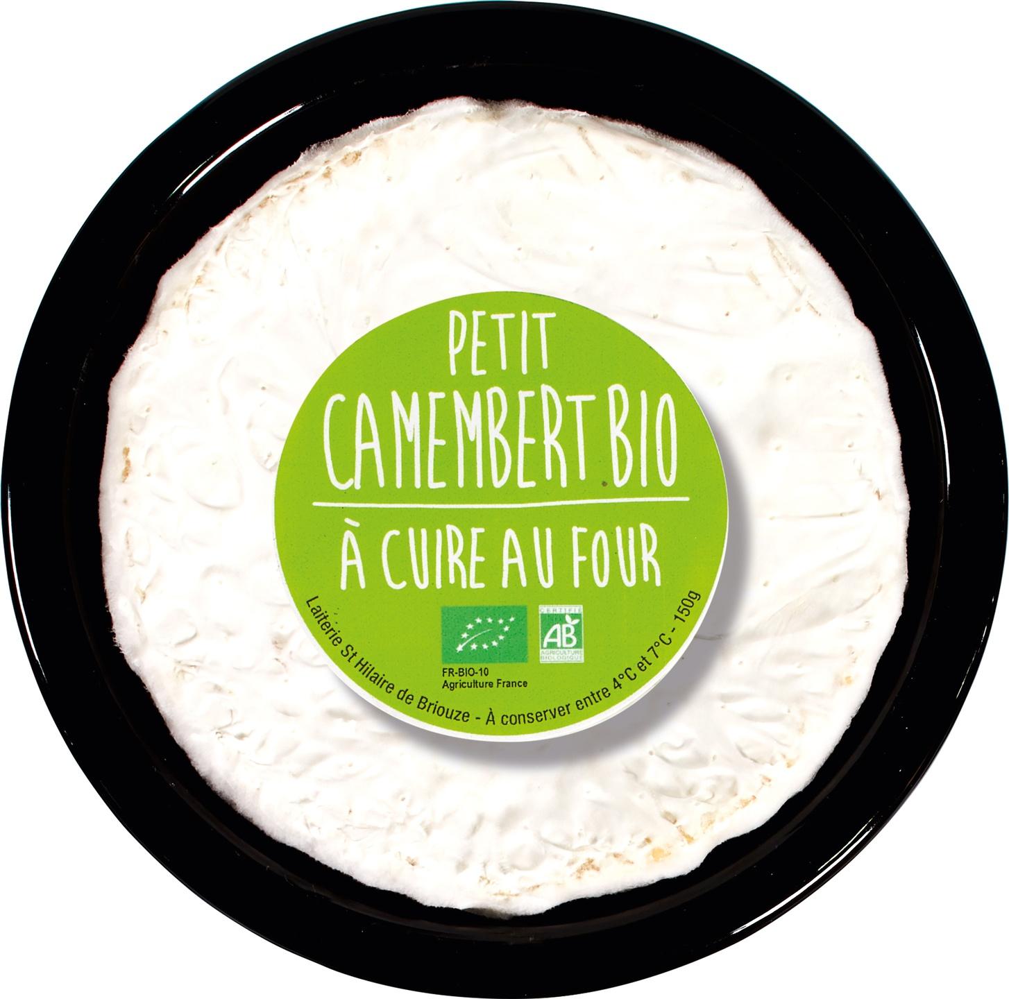 Biologische Gillot Camembert au four 150 gr