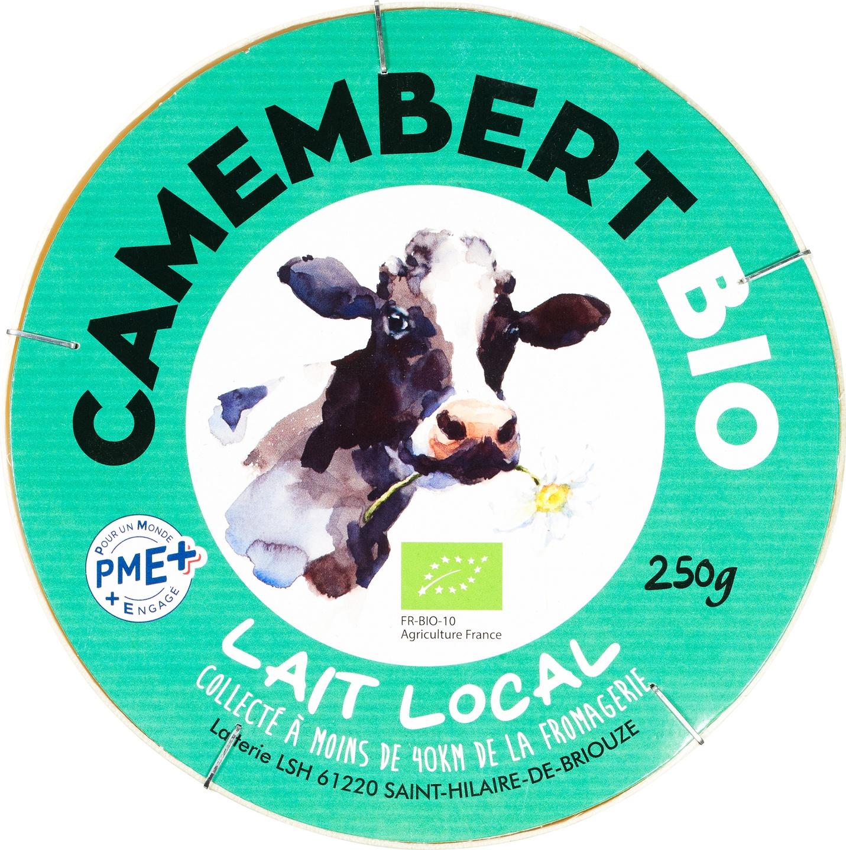 Biologische Gillot Camembert 250 gr