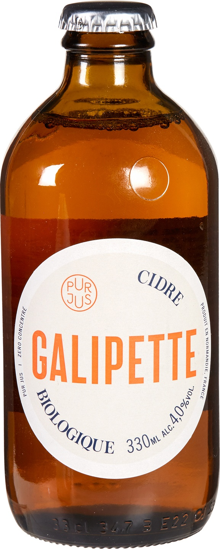 Biologische Galipette Galipette cider (24) 330 ml
