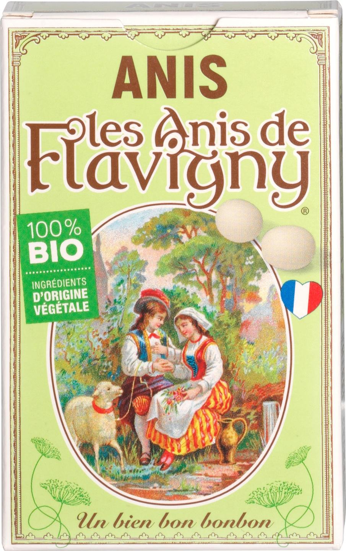 Biologische Flavigny Anijspastilles anijs 40 gr