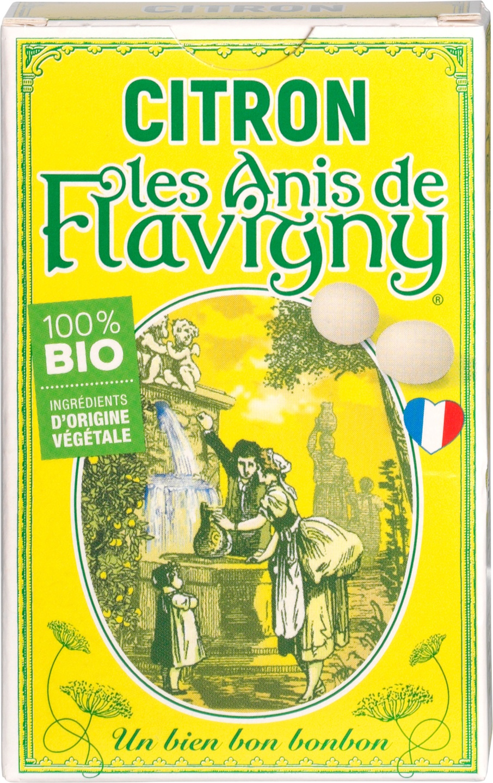 Biologische Flavigny Anijspastilles citroen 40 gr