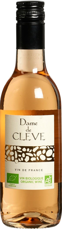 Biologische Dame de Cleve Rosé 250 ml