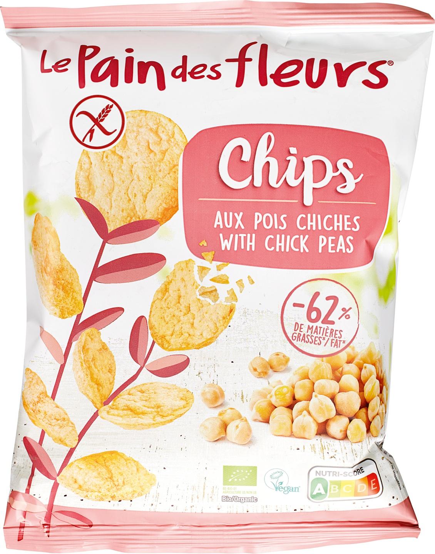 Biologische Le Pain des Fleurs Chips Kikkererwten 50 gr