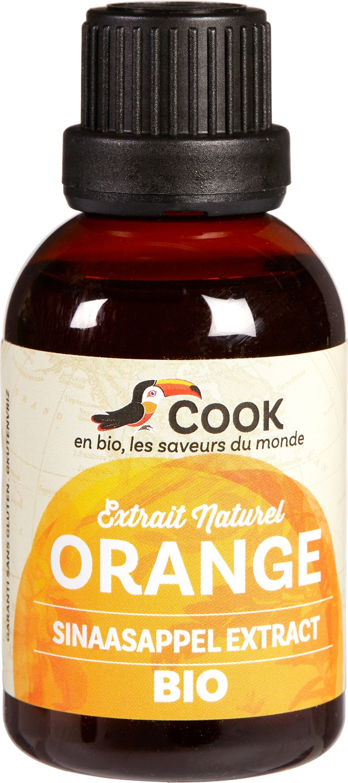 Biologische Cook Sinaasappel aroma 50 ml