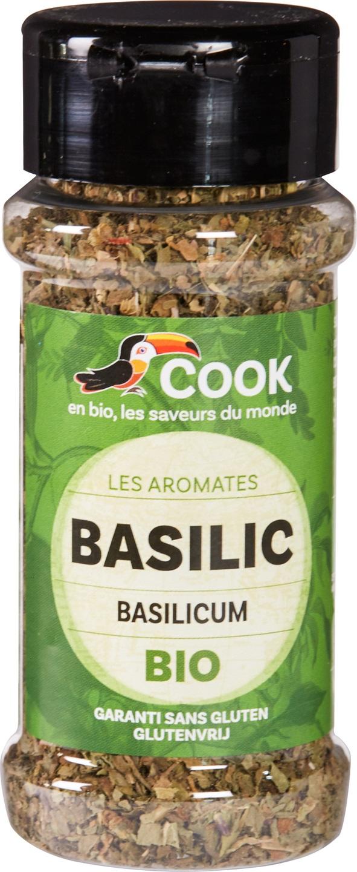 Biologische Cook Basilicum 15 gr
