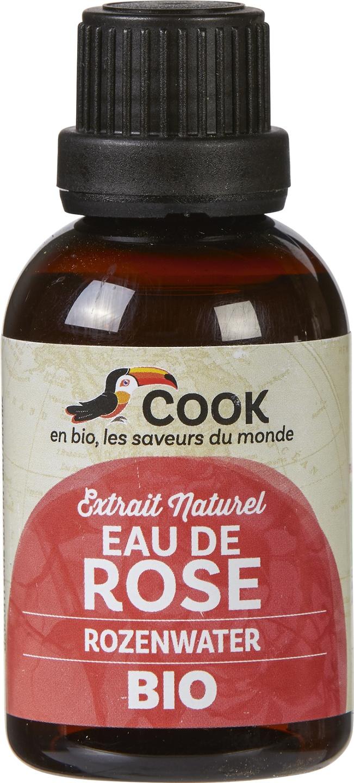 Biologische Cook Rozenwater 50 ml
