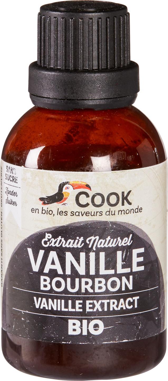 Biologische Cook Vanille extract 40 ml