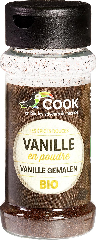 Biologische Cook Vanille poeder 10 gr