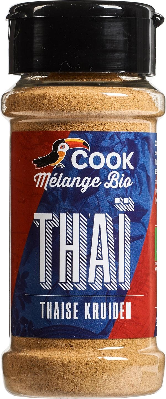 Biologische Cook Thaise kruiden 35 gr