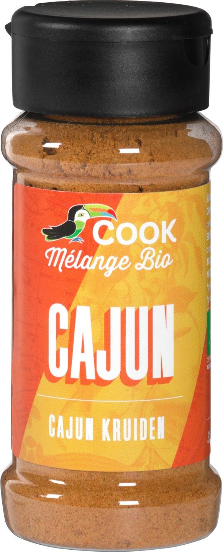 Biologische Cook Cajun kruiden 35 gr