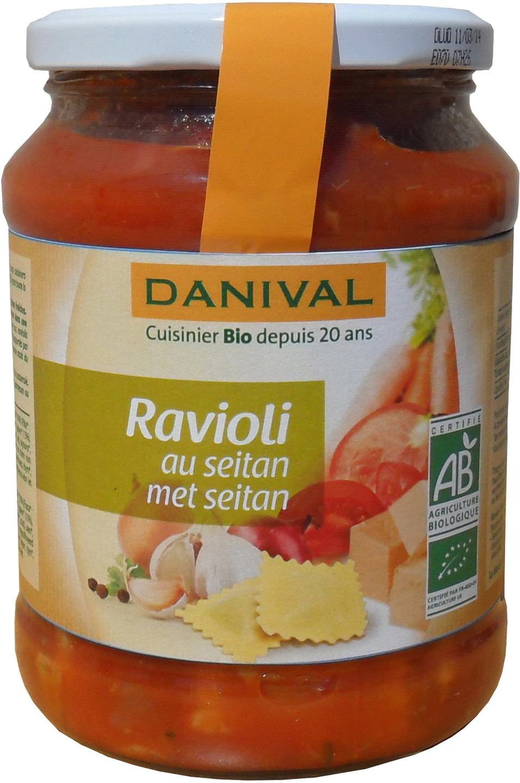 Biologische Danival Ravioli met seitan 670 gr