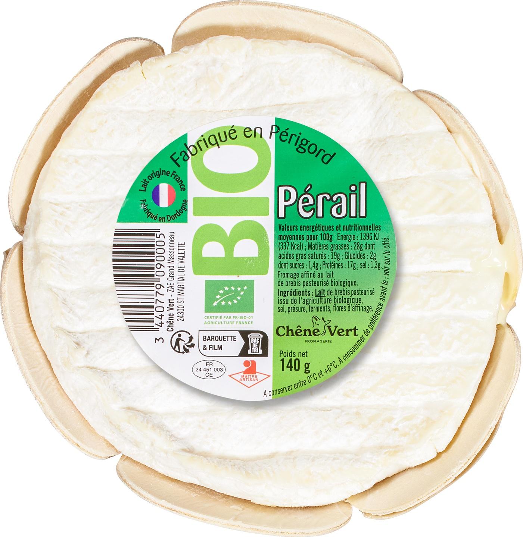 Biologische Chene Vert Perail de Brebis 140 gr