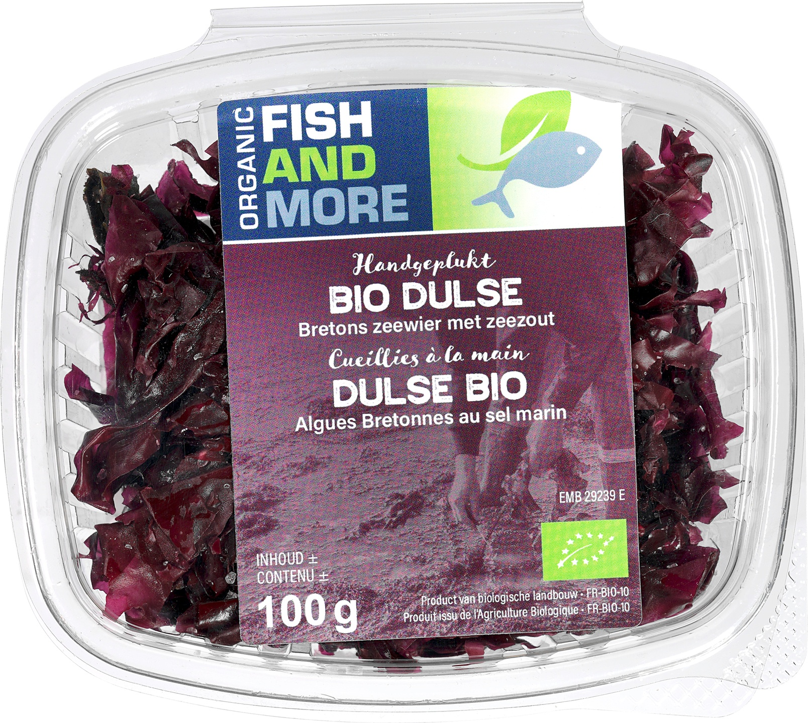Biologische Fish and More Zeewier Dulse 100 gr