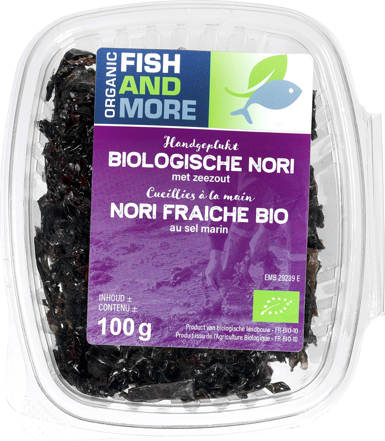 Biologische Fish and More Zeewier Nori 100 gr