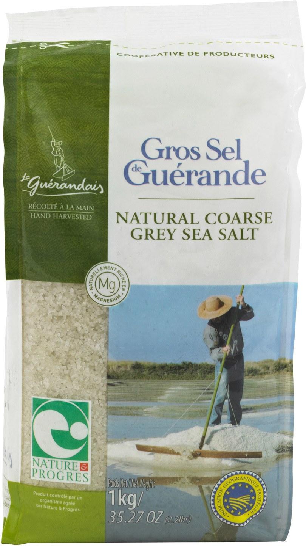 Biologische Le Guérandais Keltisch zeezout 1 kg