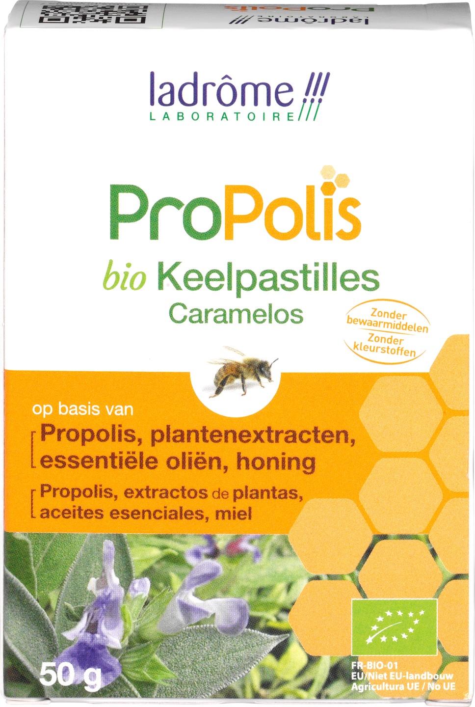 Biologische ladrôme laboratoire ProPolis keelpastilles 5 gr