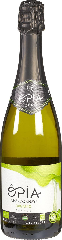 Biologische Opia Chardonnay sparkling alcoholvrij 750 ml