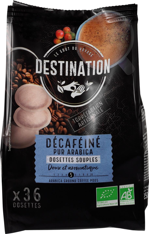 Biologische Destination Koffiepads decafé 36 st