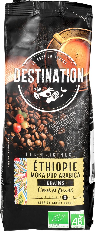 Biologische Destination Koffiebonen vol & fruitig Ehiopië 500 g