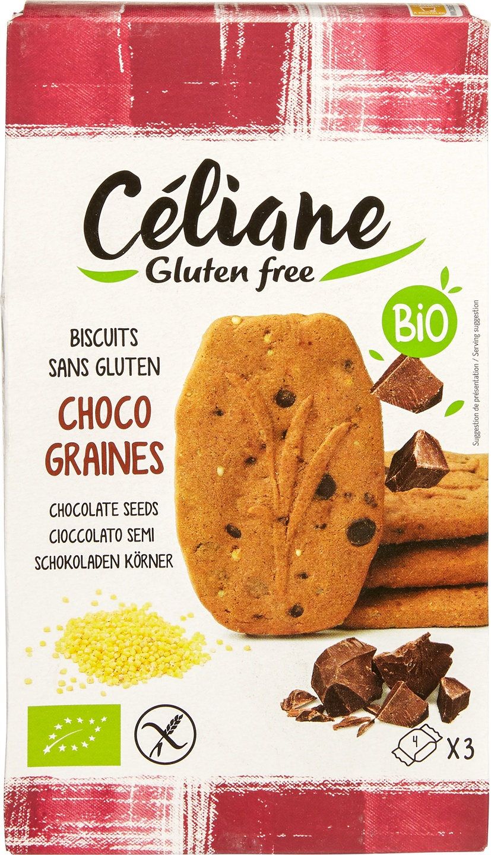 Biologische Celiane Chocoladebiscuits GV-LV 150 gr