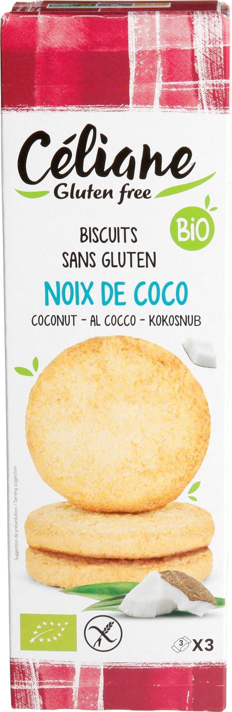 Biologische Celiane Kokosnootzandkoekjes 150 gr