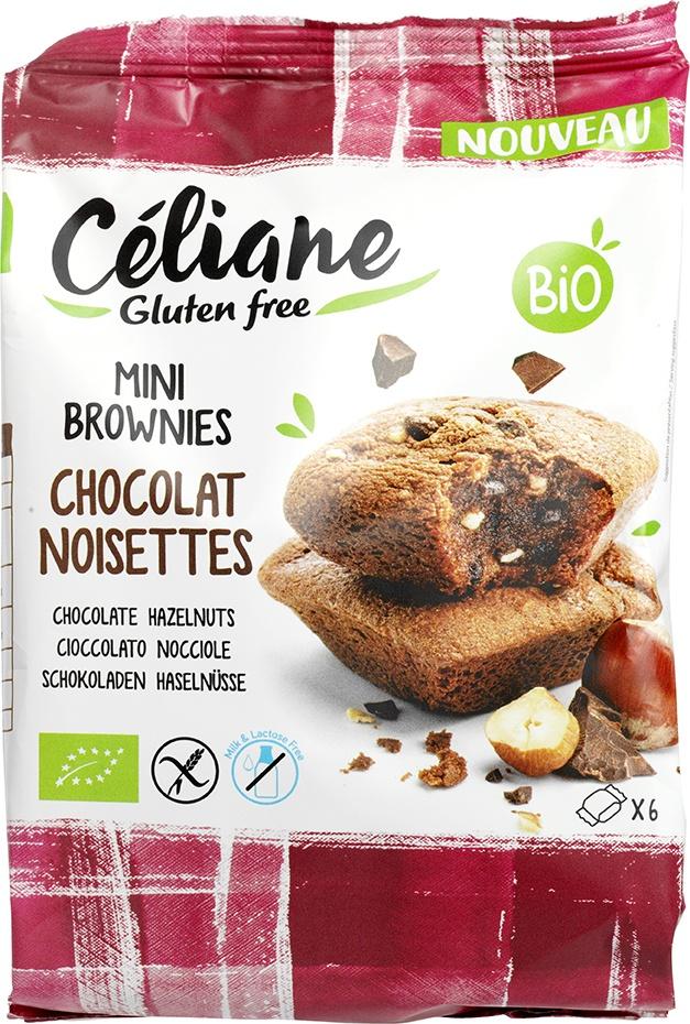 Biologische Celiane Brownies uitdeelverpakking 150 gr