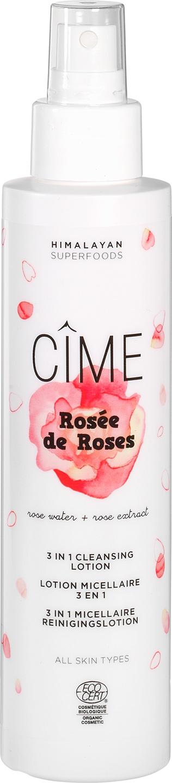 Biologische Cîme Reinigingslotion 3-in-1 rozen - alle huidtypes 150 ml