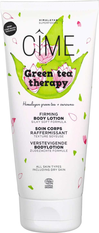Biologische Cîme Groene thee therapie/ verstevigende bodylotion 200 ml