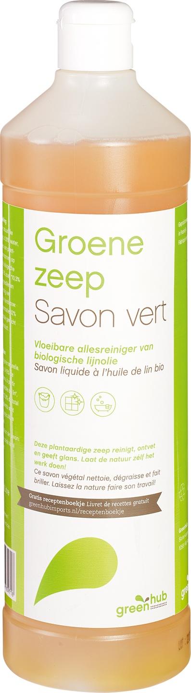 Biologische Greenhub Groene zeep 1 L