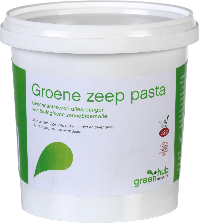 Biologische Greenhub Groene zeep pasta 1 kg