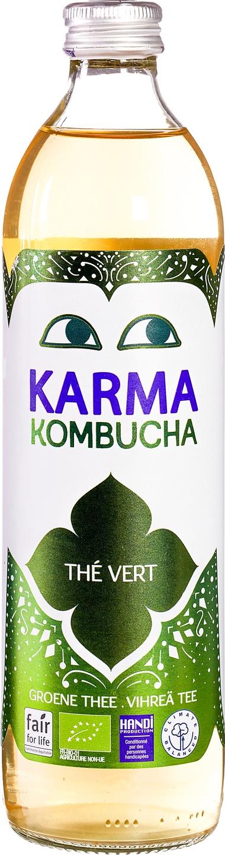 Biologische Karma Kombucha groene thee 500 ml