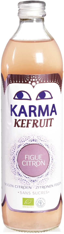Biologische Karma Kefir vijg-citroen 500 ml