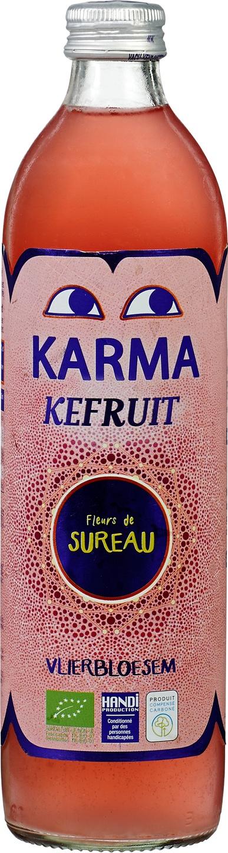 Biologische Karma Kefir vlierbloesem 500 ml