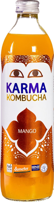 Biologische Karma Kombucha mango 500 ml