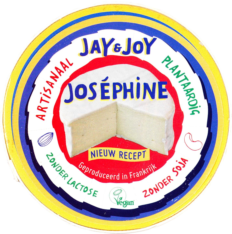 Biologische Jay & Joy Josephine vegan brie 90 gr